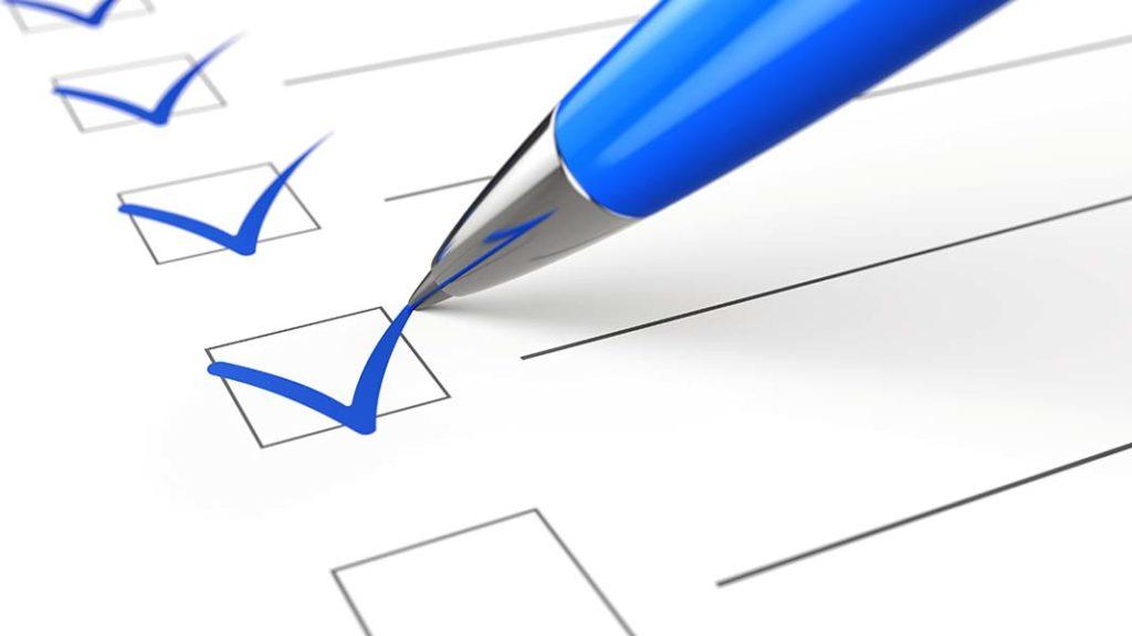 未来の目標のリストは今のチェックリストの延長線上にあります